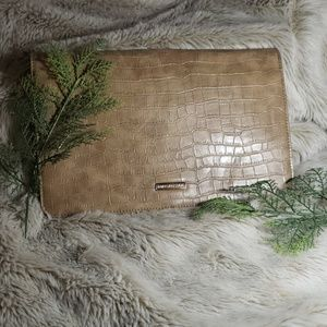 Urban Expression Tan purse/ XL Clutch